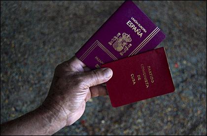 PasaportesCubaEspaña
